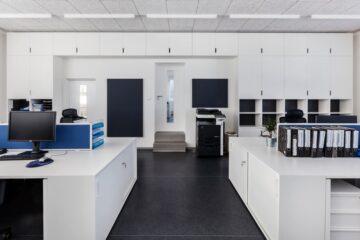 Kancelář a zázemí firmy